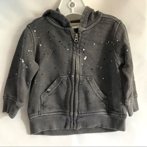 GYMBOREE Grey Faded Hoodie